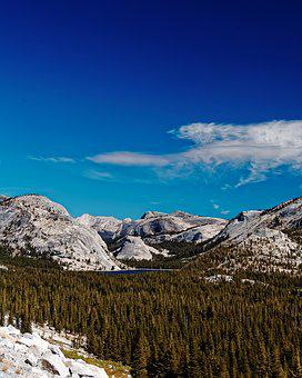 California, National Park, Usa, Yosemite, Mountains