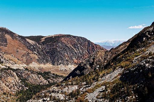 Pass, Road, California, National Park, Usa, Yosemite
