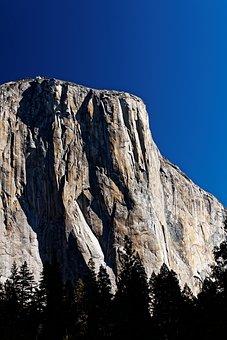 El Capitan, California, National Park, Usa, Yosemite