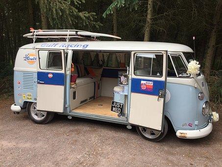 Vw Split Screen, Camper Van, Dub