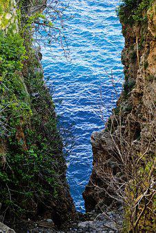 Landscape, Rocky, Blue, Nature, Cleft, Valley, Antalya