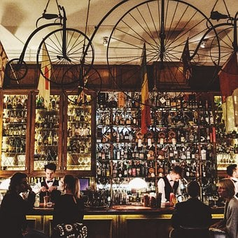 Bar, Wheel, Drinks, Beverages, Liquor, Store, Alcohol