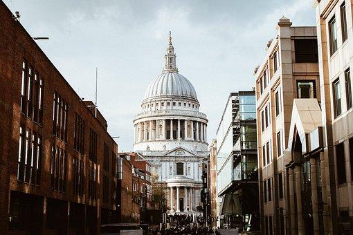 Church, Streets, Urban, City, Metropolis, Buildings