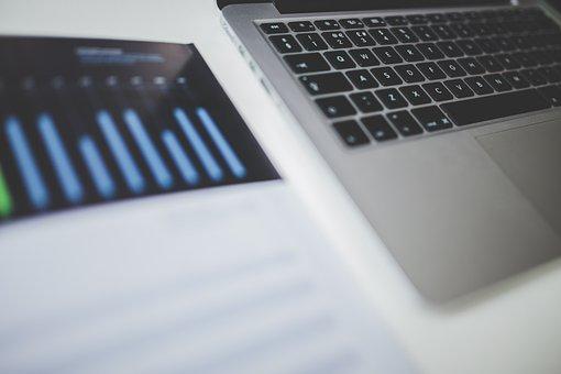 Macbook, Laptop, Computer, Technology, Charts, Graphs