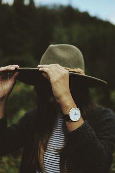 Federa, Clock, Watch, Fashion, Stripes, Green, Nature