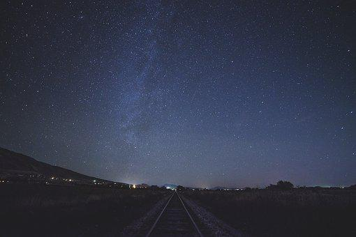 Stars, Sky, Night, Space, Galaxy, Lights, Astronomy