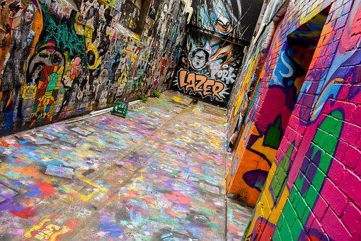 Mural, Painting, Wall, Graffiti, Public, Art, Paint