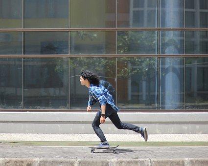 Skateboard, People, Guy, Skateboarding, Sport, Footwear