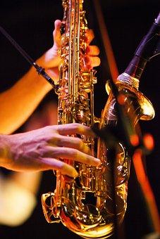 Saxophone, Music, Night, Entertainment, Macro, Bar
