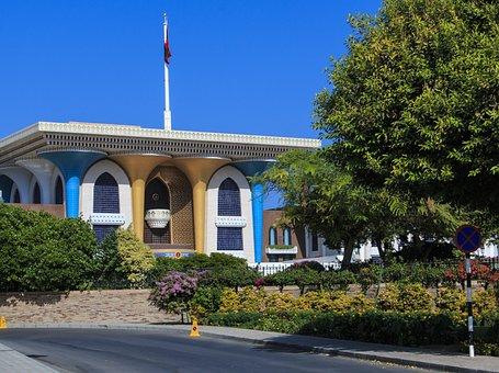 Oman, Muscat, Palace, Sultan