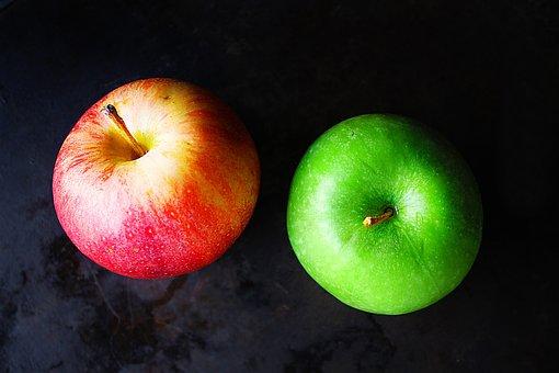 Fruit, Red, Green, Apple, Food, Eat, Taste, Nutritious