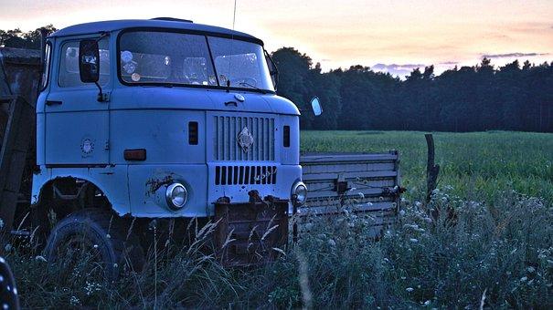 Ifa, Truck, Ddr, Historically, Long Hauber, Oldtimer