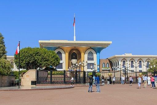 Oman, Muscat, Sultan, Palace