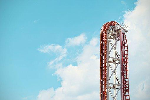Amusement Park, Roller Coaster, Fun, Ride, Summer