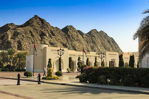 Oman, Muscat, Palace, Sultan, Tourism