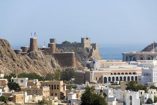 Oman, Muscat, Architecture, Sultan, Fort