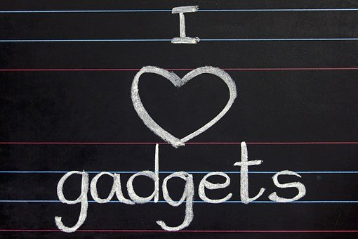 Blackboard, Gadgets, Heart, Love, Commercial, Addiction