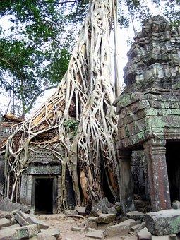 Cambodia, Ruins, Ancient, Asia, Travel, Temple, Angkor