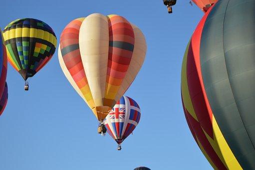 Hot Air Balloon, Ballooning, Colorful, Flight, Balloon