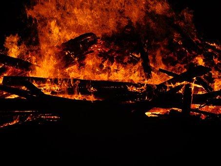 Flame, Burn, Campfire, Fire, Hot, Orange, Close, Heat