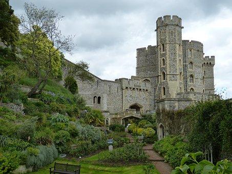 Windsor, London, England, Castle, Windsor Castle