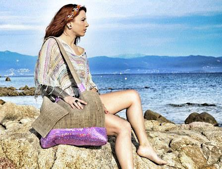 Creation, Mode, Novelty, Summer, Corsican, Bag