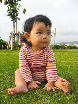 Kids, Toddler, Girls, Cute, Border, Japanese