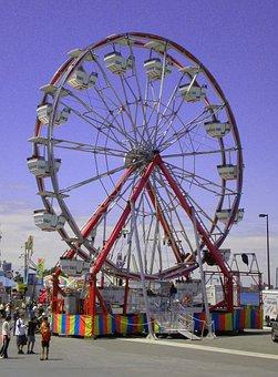 Big Wheel, Carnival, Ferris Wheel, Windsor Ontario