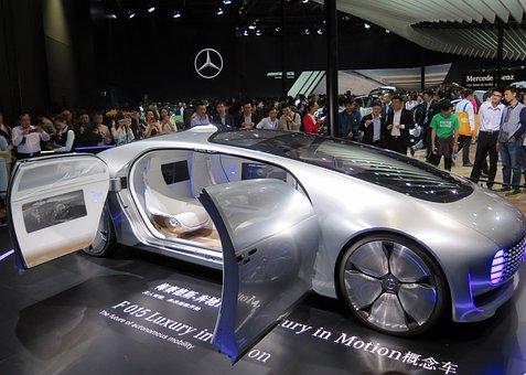 Concept Car, Forward, Prototype, Mercedes Benz, F 015