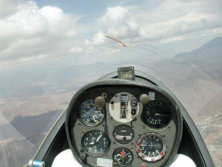 Jura-mountains, Glider, Switzerland, Flying, Gliding
