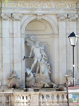 Fountain, Chapter Glut, Neptune, Meeresross, Horse Pond