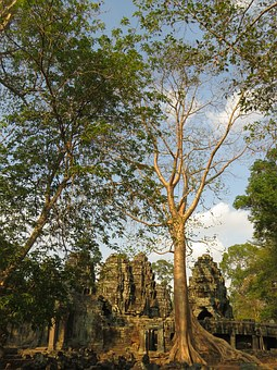 Angkor, Wat, Cambodia, Architecture, Ancient, Khmer