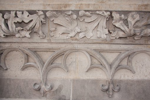 Leaf Frieze, Frieze, Panel Tracery, Gothic, Tracery