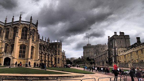 London, Park, Windsor Castle