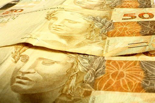 Money, Note, Real, Fifty Dollars, Brazilian Currency