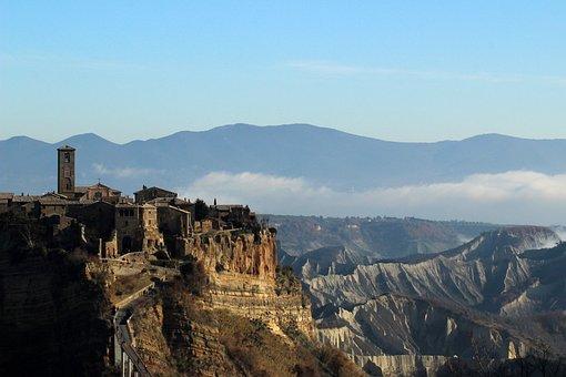 Citadel, Mountain City, Mountain, City, Tourism, Ruin