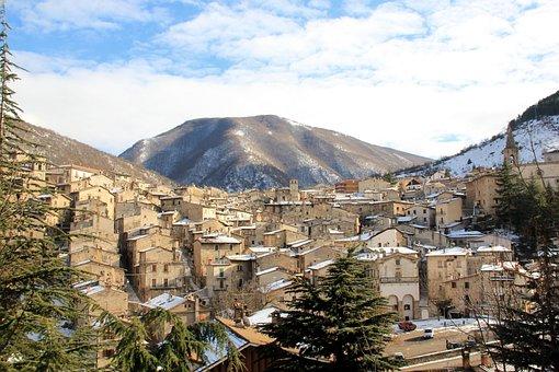 Abruzzo, Scanno, Mountains, Mountain, Italy, Appennino