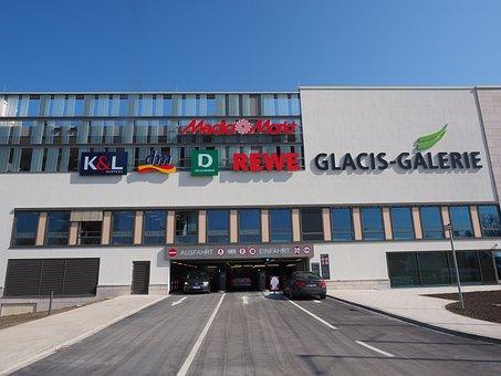 Multi Storey Car Park, Gateway, Park, Shopping Centre