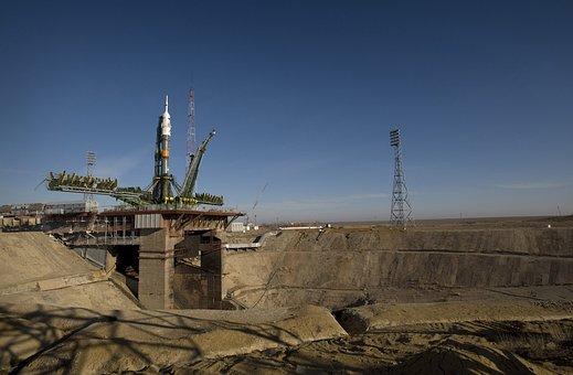 Rocket, Soyuz Rocket, Soyuz, Start, Take Off, Fly