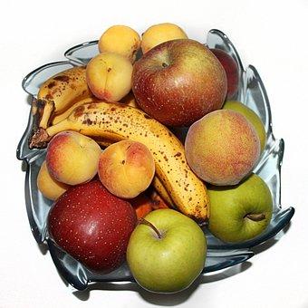Fruit, Banana, Apple, Apricot, Fresh, Healthy, Sweet