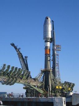Rocket, Soyuz Rocket, Soyuz, Start, Take Off, Flying