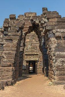 Cambodia, Kampong Cham, Khmer, Art, Temple, Ruin