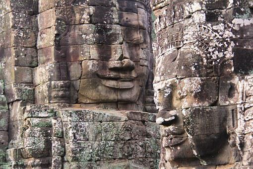 Bayon Temple, Temple, Travel, Antique, Old, Movie