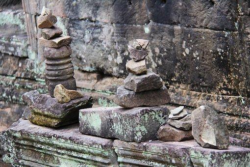 Preah Khan Temple, Temple, Travel, Antique, Old