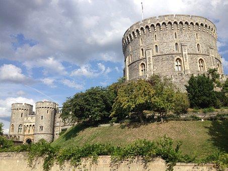 London, Windsor Castle, Uk, England, Medieval, Royal