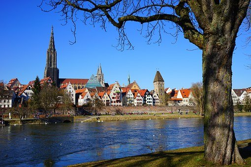 Ulm, View, Outlook, City Wall, Downtown, Center