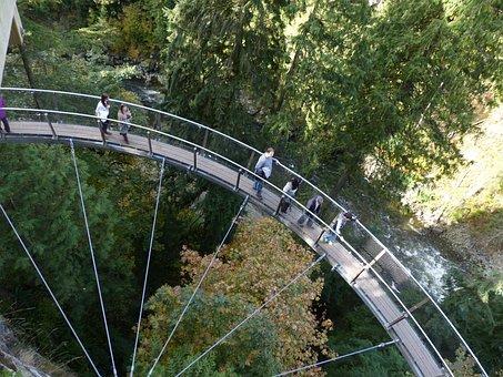 Sky Walk, Vancouver, British Columbia, Capilano Canyon