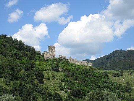 Castle, Ruin, Austria, Lower Austria, Wachau