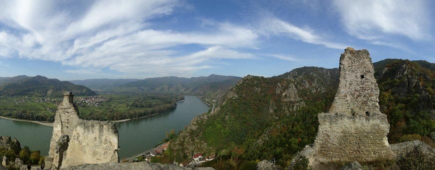 Austria, River, Danube, Wachau Valley, Landscape