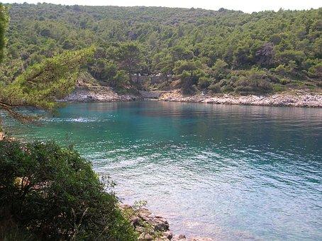 Croatia, Mali Losinj, Bay, Losinj Island, Water